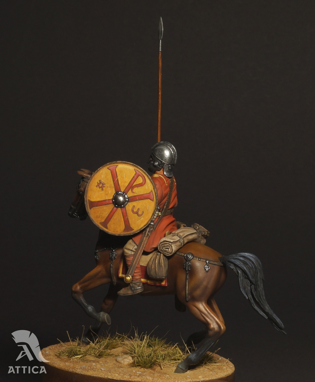 Фигурки: Римский всадник  4 в.н.э., фото #9