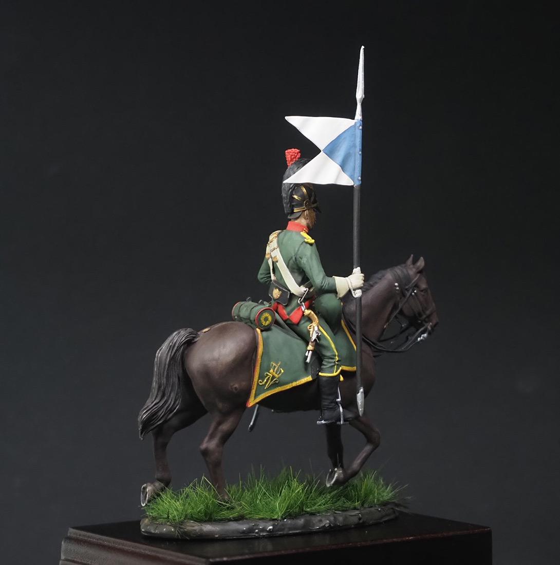 Фигурки: Вестфальский конный шеволежер, фото #2