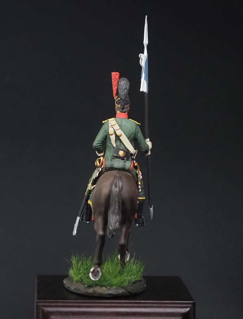 Фигурки: Вестфальский конный шеволежер, фото #3