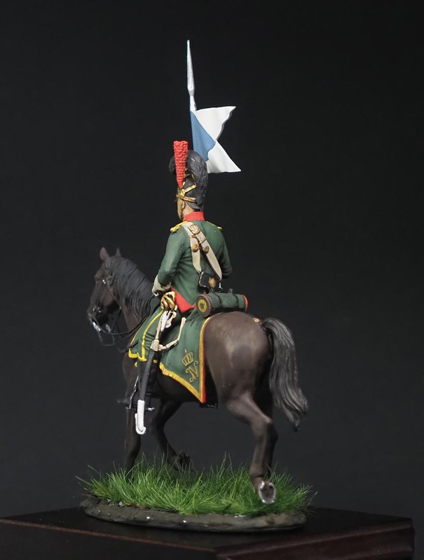 Фигурки: Вестфальский конный шеволежер, фото #4