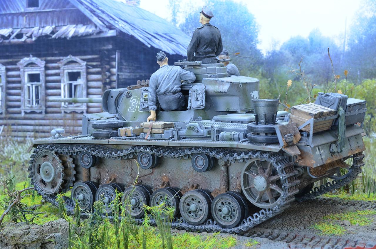 Диорамы и виньетки: Panzer III Ausf. L , фото #2
