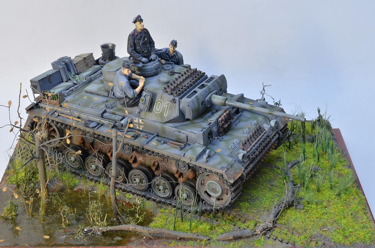 Диорамы и виньетки: Panzer III Ausf. L , фото #3