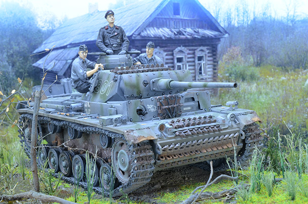 Диорамы и виньетки: Panzer III Ausf. L