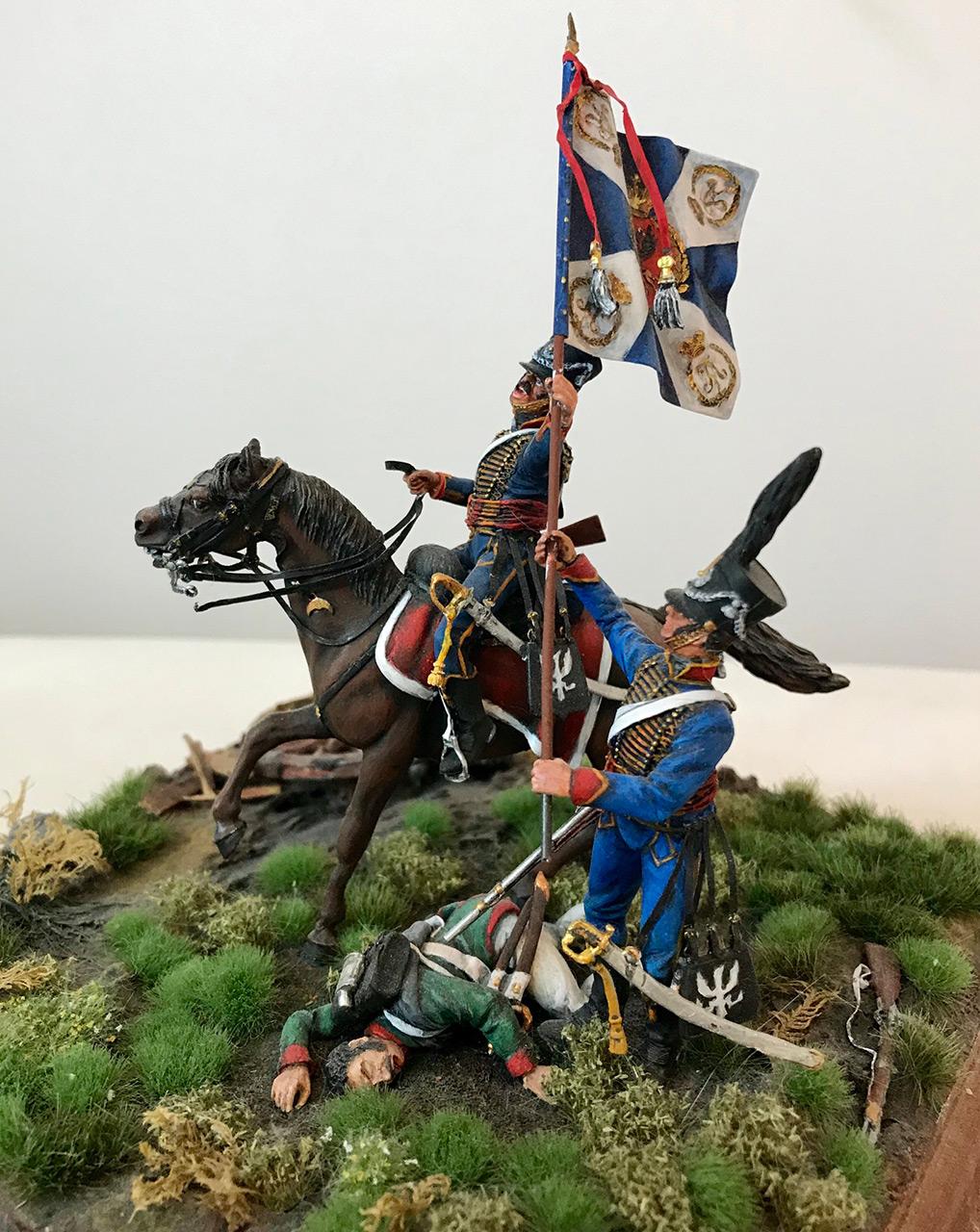 Диорамы и виньетки: Захват флага. Россия, 1812, фото #10