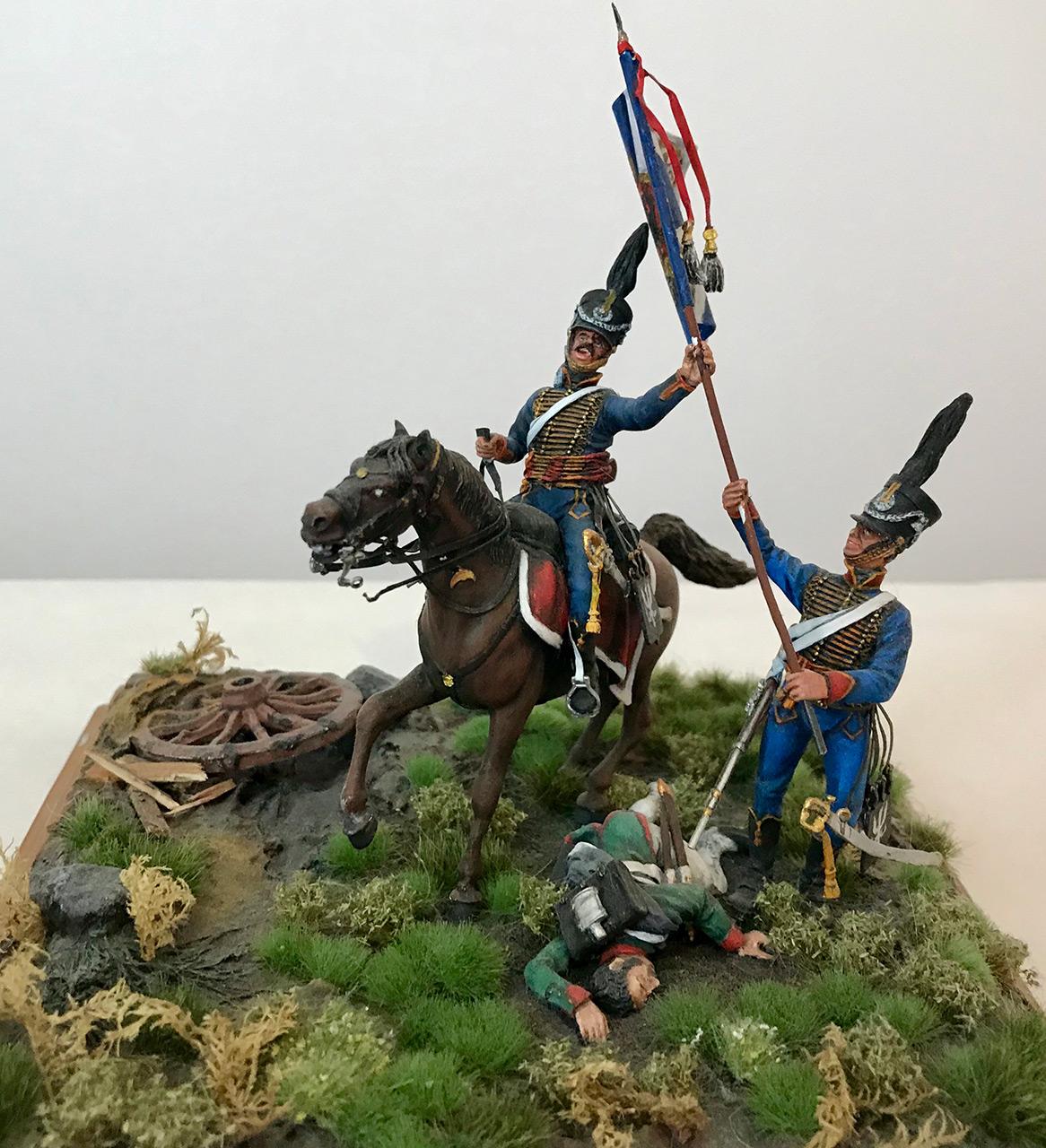 Диорамы и виньетки: Захват флага. Россия, 1812, фото #12
