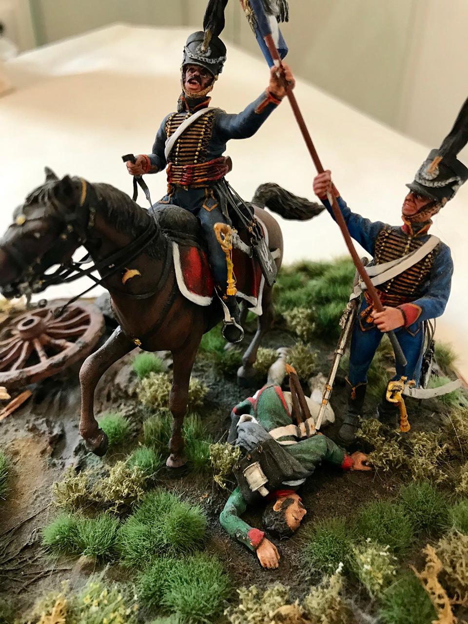 Диорамы и виньетки: Захват флага. Россия, 1812, фото #4