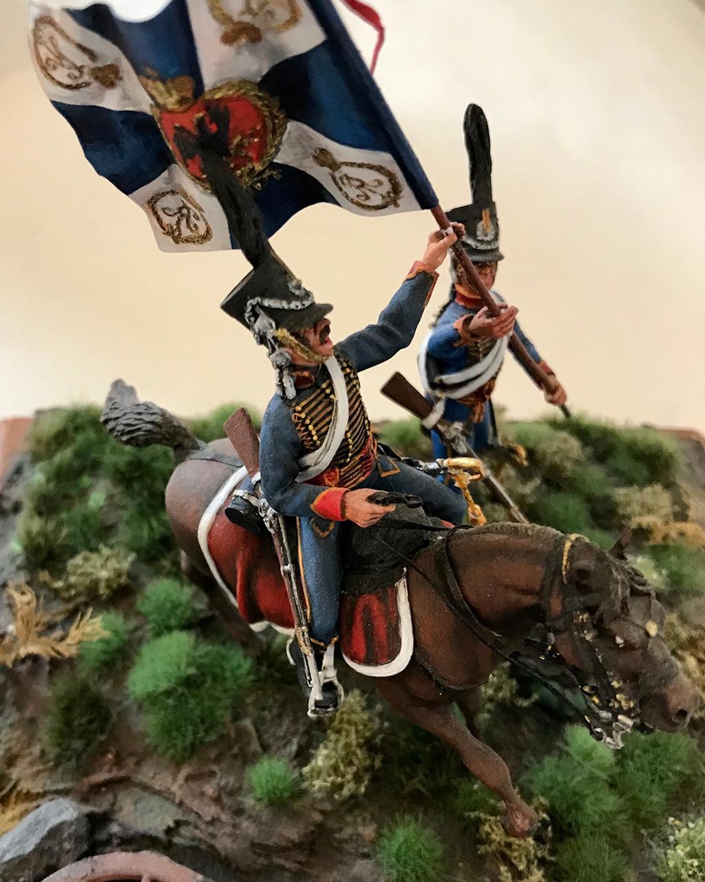 Диорамы и виньетки: Захват флага. Россия, 1812, фото #6
