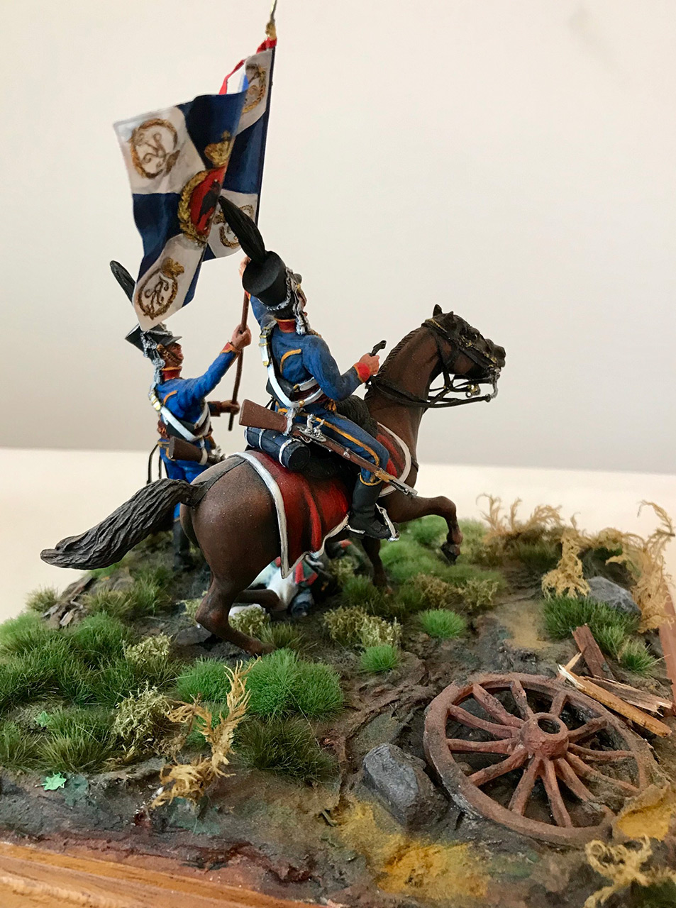 Диорамы и виньетки: Захват флага. Россия, 1812, фото #7