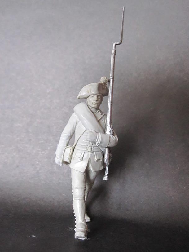 Скульптура: Мушкетер 1758 г.
