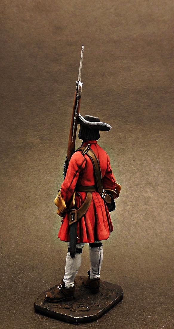 Фигурки: Фузилёр Бутырского пехотного полка, 1702-06 гг. Россия, фото #3