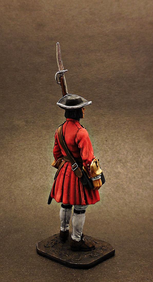 Фигурки: Фузилёр Бутырского пехотного полка, 1702-06 гг. Россия, фото #5