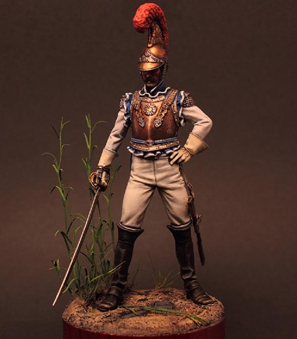 Фигурки: Офицер карабинеров армии Наполеона. 1811-1814гг