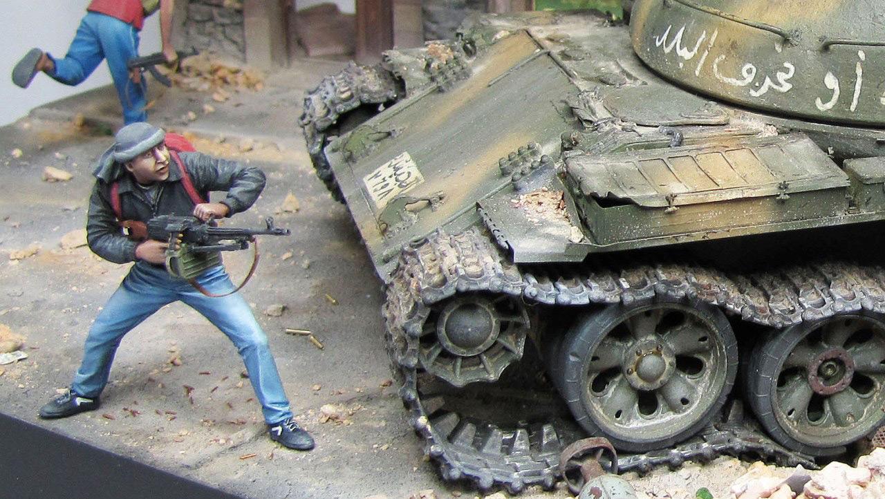 Диорамы и виньетки: Алеппо в огне, фото #28