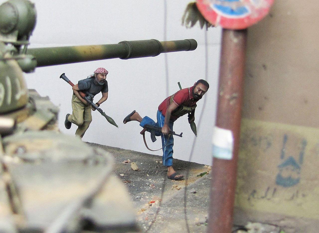 Диорамы и виньетки: Алеппо в огне, фото #29