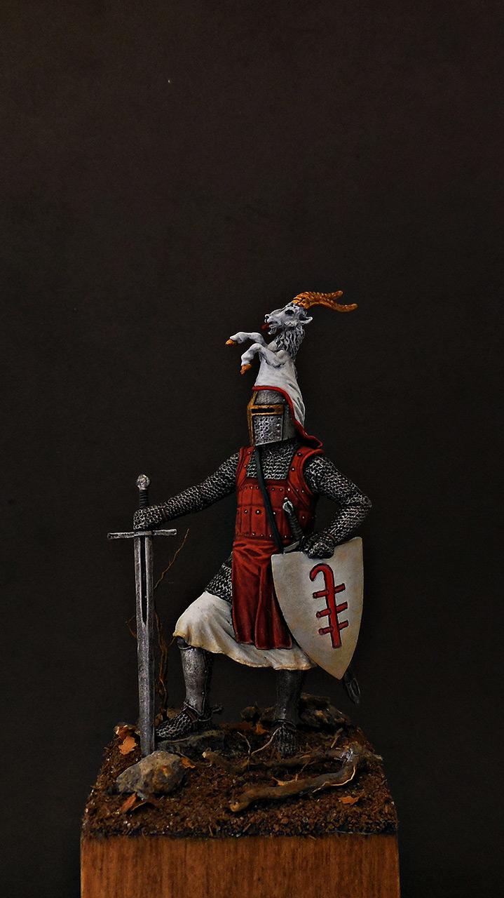Фигурки: Германский рыцарь, 2-я пол. 13 века, фото #1