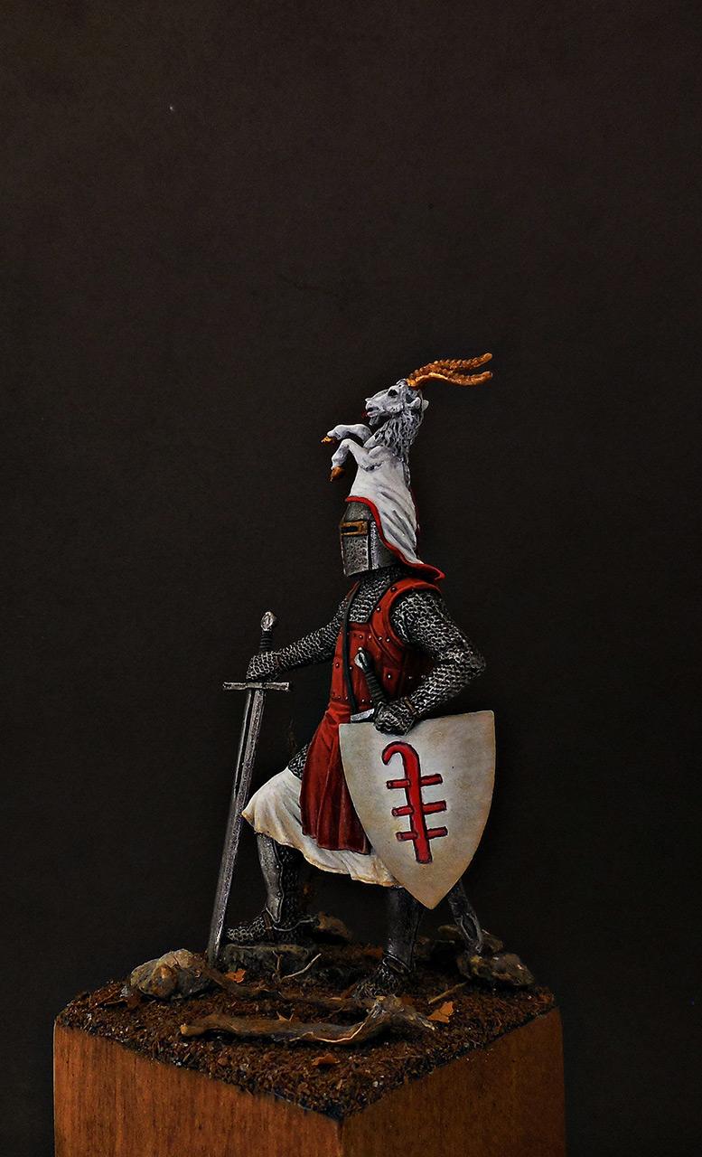 Фигурки: Германский рыцарь, 2-я пол. 13 века, фото #2