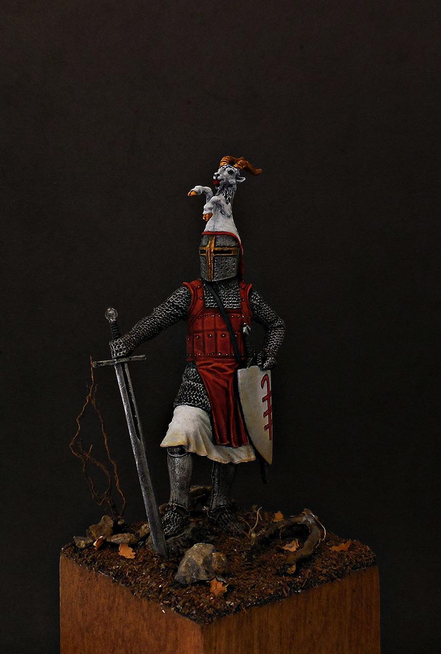 Фигурки: Германский рыцарь, 2-я пол. 13 века, фото #6