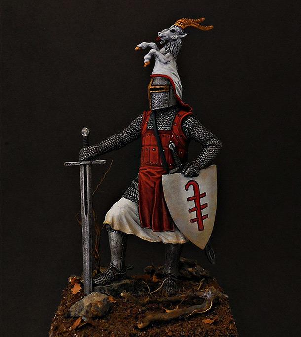 Фигурки: Германский рыцарь, 2-я пол. 13 века