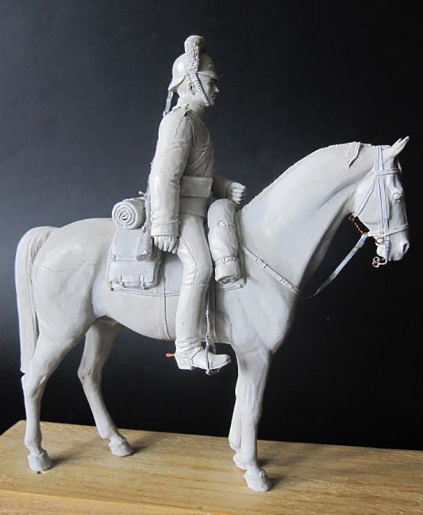 Скульптура: Драгун, 1913 г.