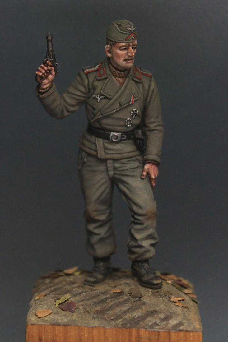 Фигурки: Унтер-офицер самоходной артиллерии Вермахта, осень 1941 г., фото #1