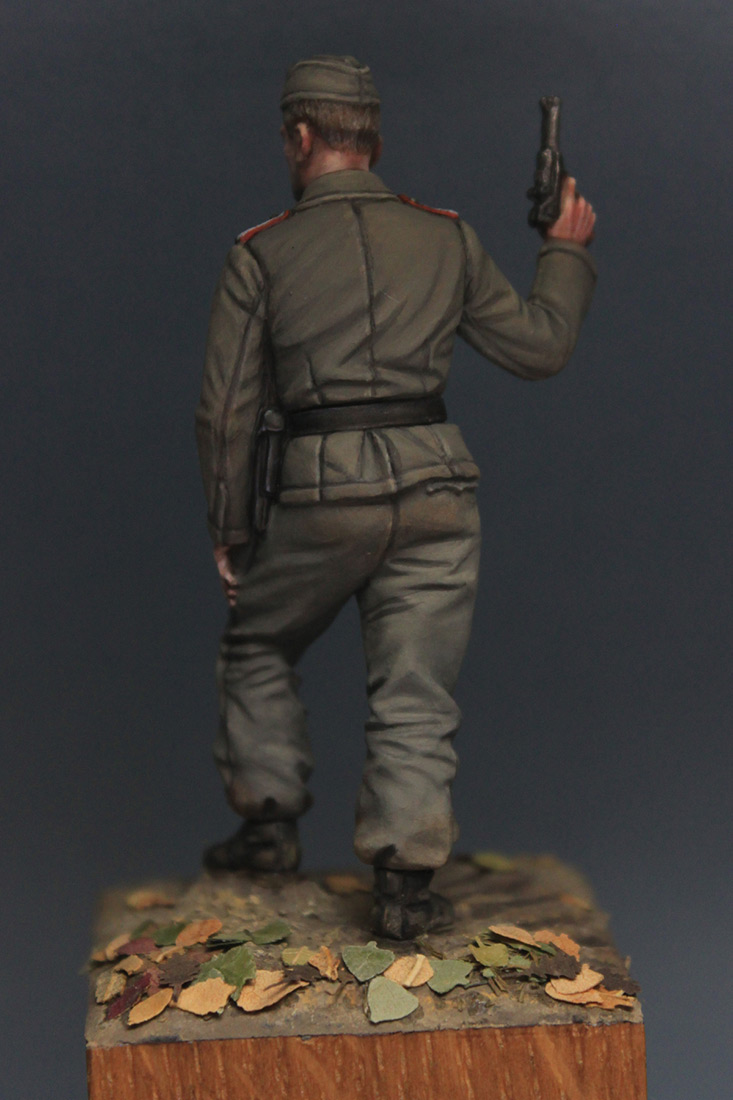 Фигурки: Унтер-офицер самоходной артиллерии Вермахта, осень 1941 г., фото #6