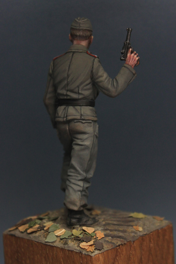 Фигурки: Унтер-офицер самоходной артиллерии Вермахта, осень 1941 г., фото #7