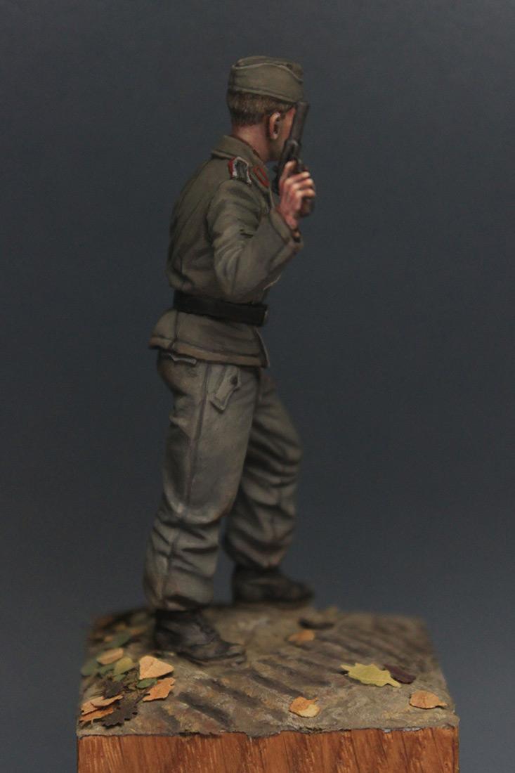 Фигурки: Унтер-офицер самоходной артиллерии Вермахта, осень 1941 г., фото #8