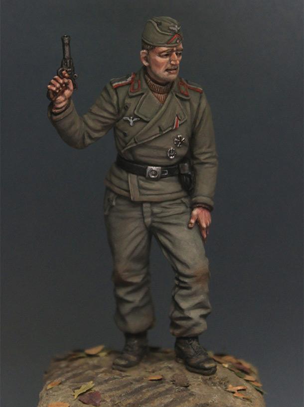 Фигурки: Унтер-офицер самоходной артиллерии Вермахта, осень 1941 г.