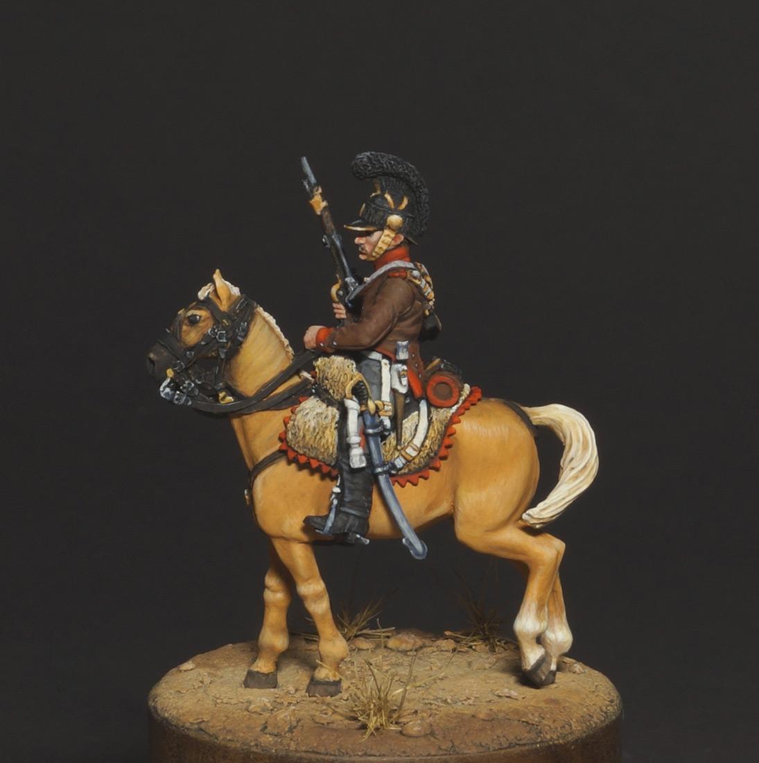 Фигурки: Конный егерь португальского легиона, 1808, фото #1