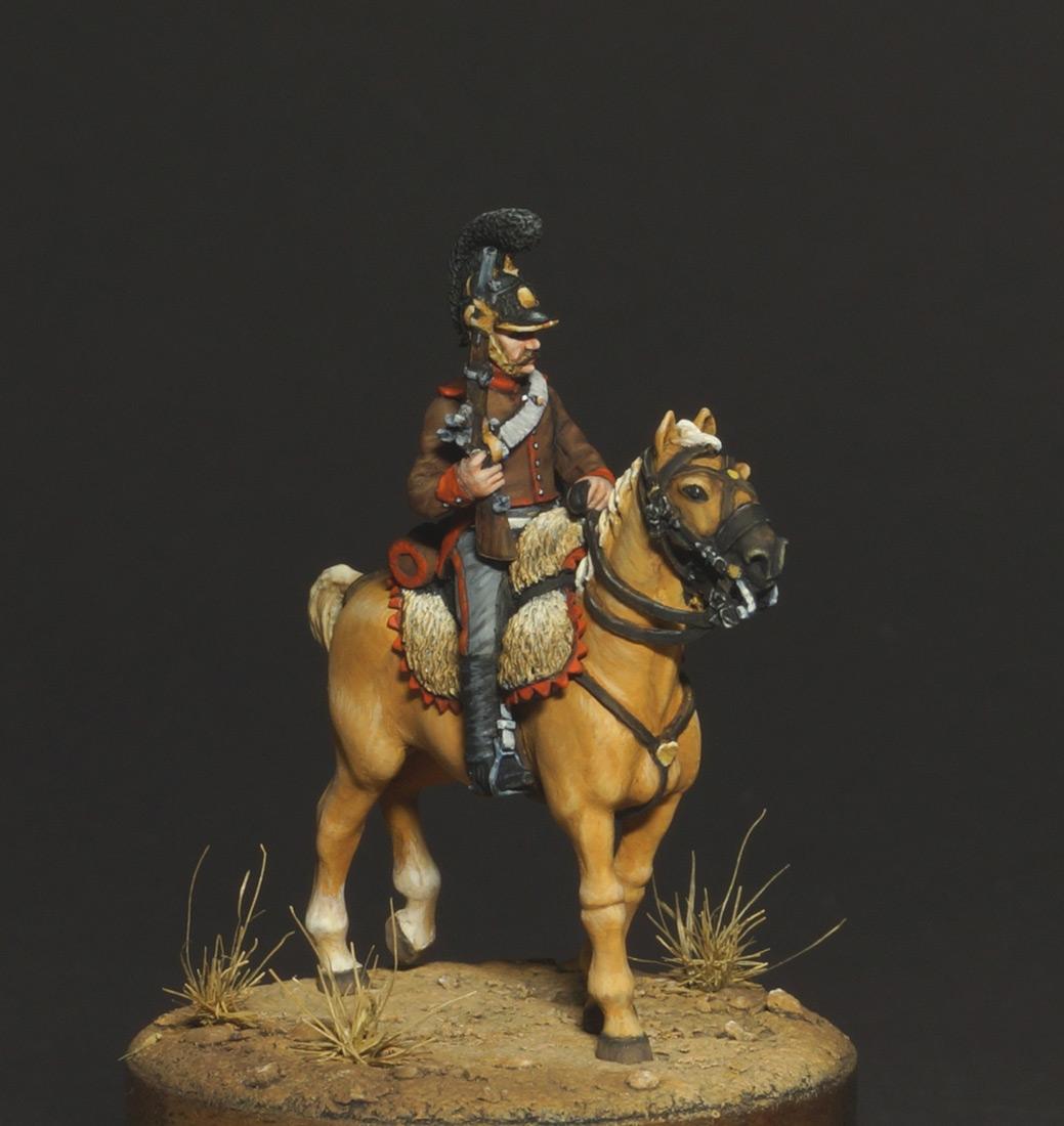 Фигурки: Конный егерь португальского легиона, 1808, фото #5