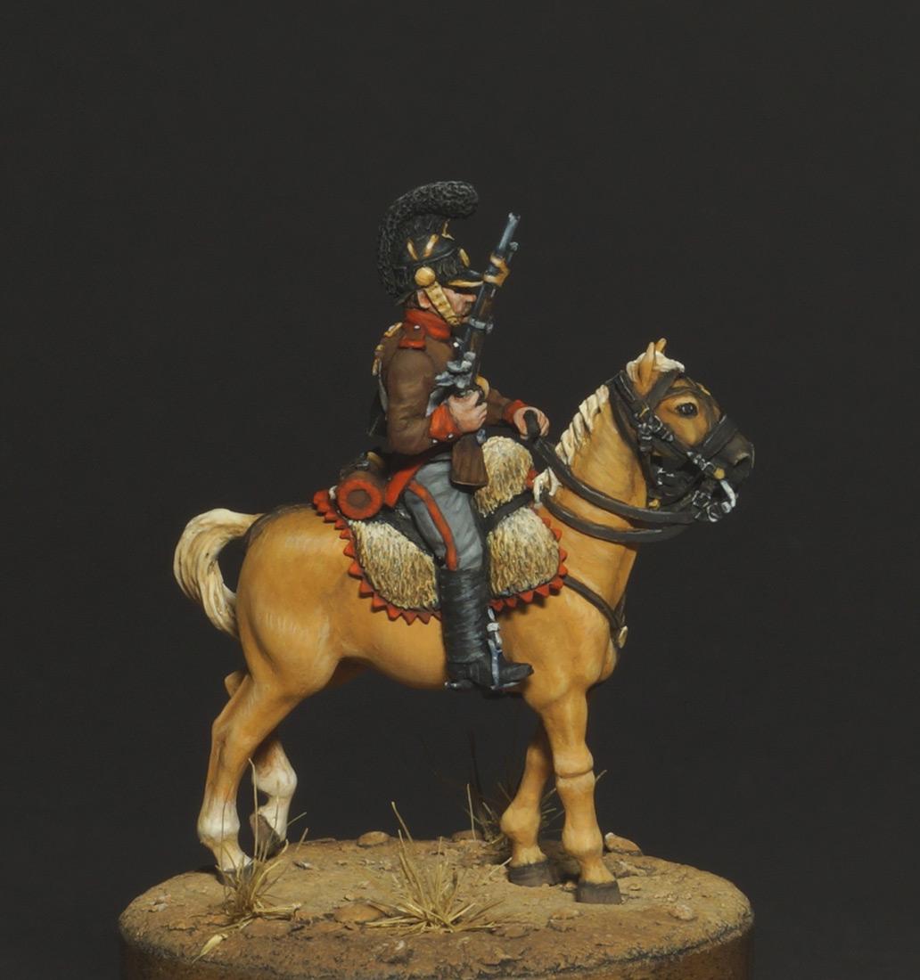 Фигурки: Конный егерь португальского легиона, 1808, фото #6