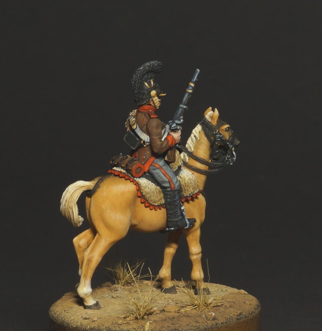 Фигурки: Конный егерь португальского легиона, 1808, фото #7