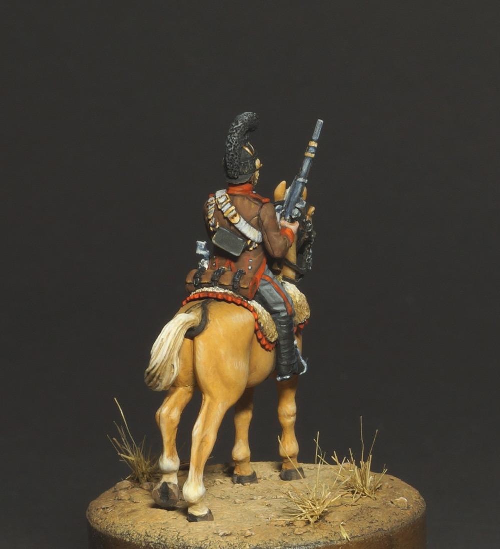 Фигурки: Конный егерь португальского легиона, 1808, фото #8