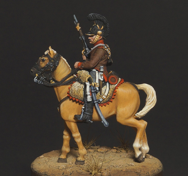 Фигурки: Конный егерь португальского легиона, 1808