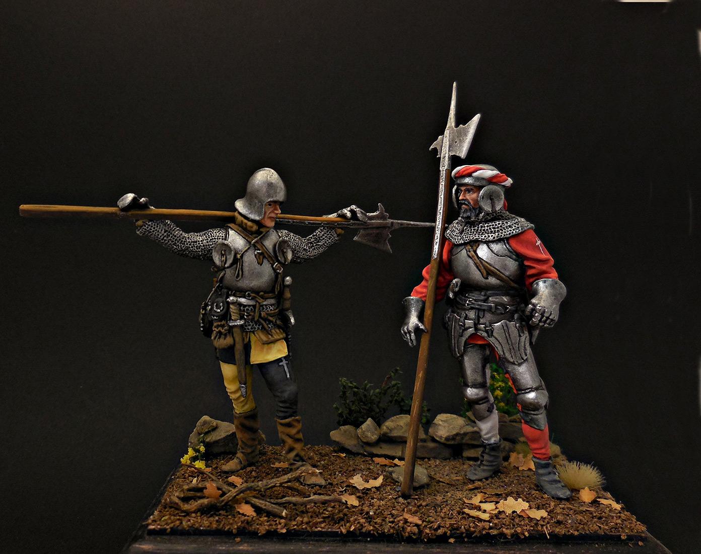 Фигурки: Швейцарские гвардейцы, фото #1