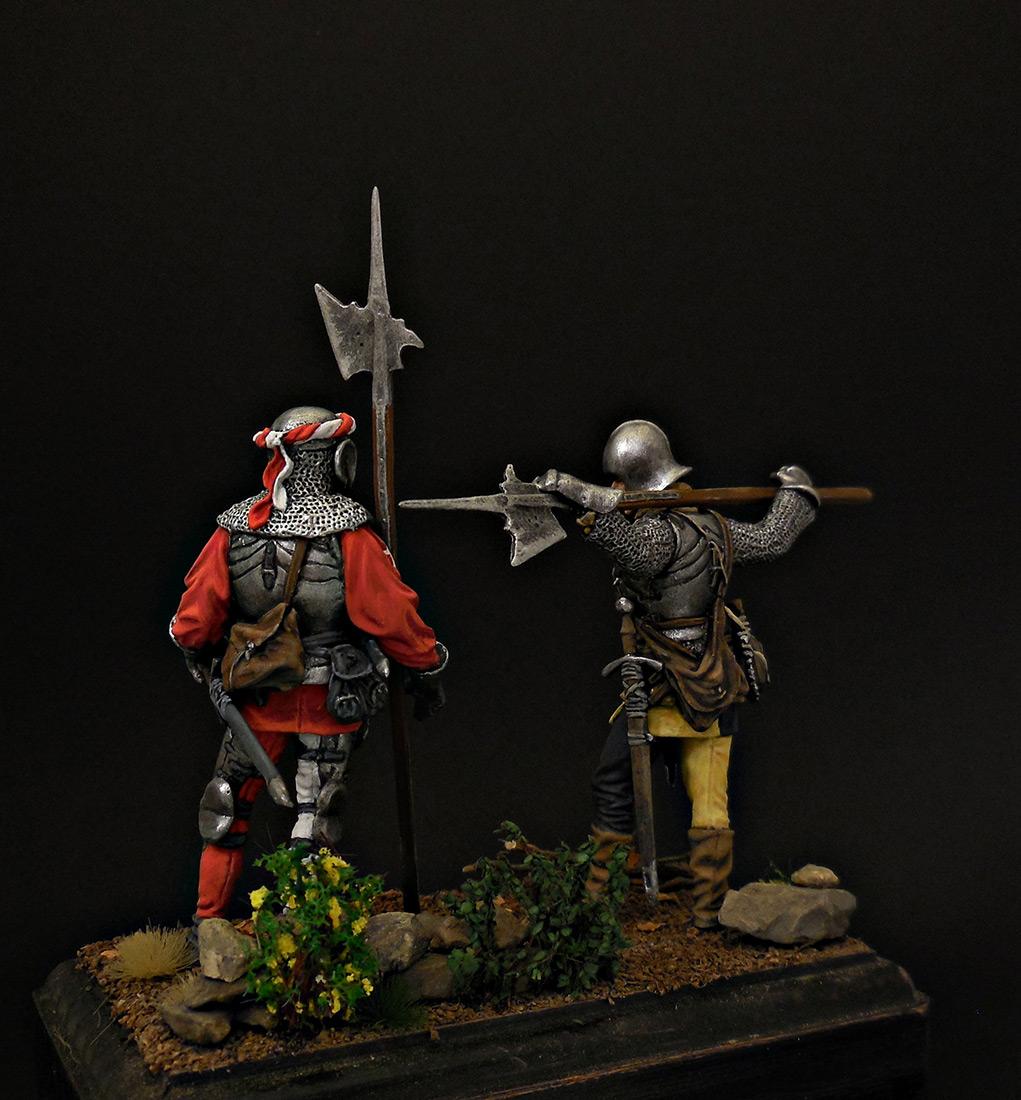 Фигурки: Швейцарские гвардейцы, фото #3