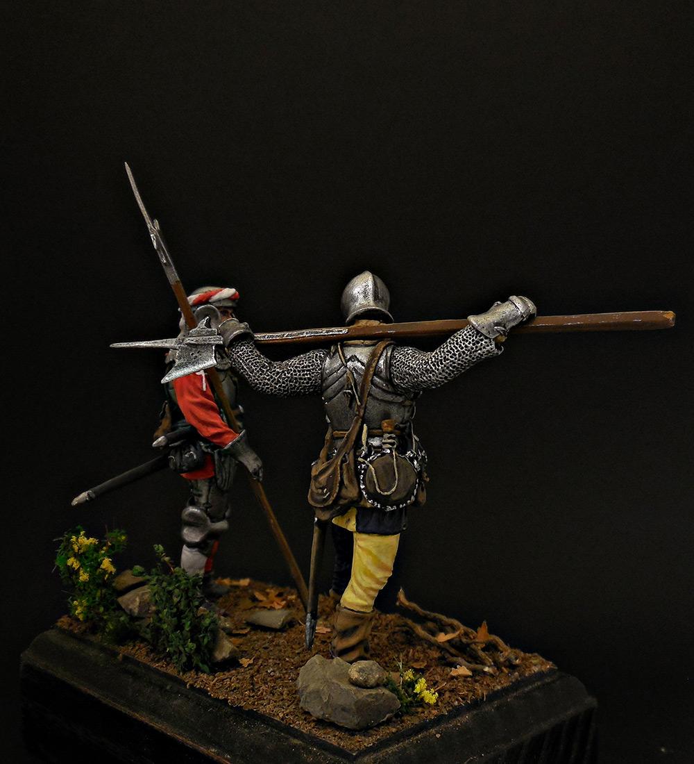 Фигурки: Швейцарские гвардейцы, фото #4