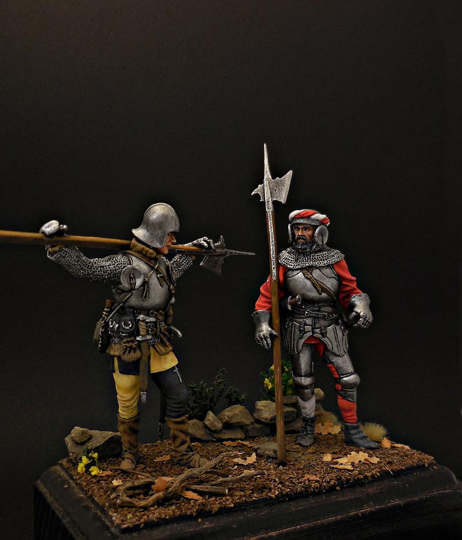 Фигурки: Швейцарские гвардейцы, фото #5