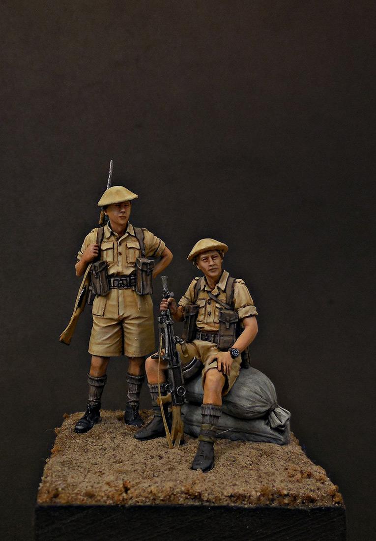 Фигурки: Британская пехота, Северная Африка, 1941-43, фото #1