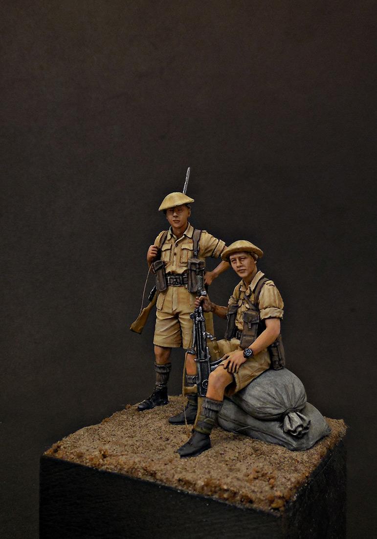 Фигурки: Британская пехота, Северная Африка, 1941-43, фото #2