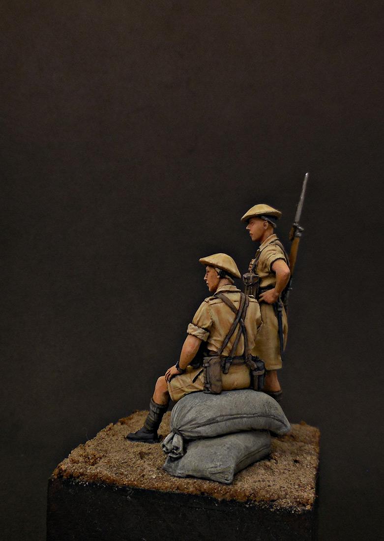 Фигурки: Британская пехота, Северная Африка, 1941-43, фото #3
