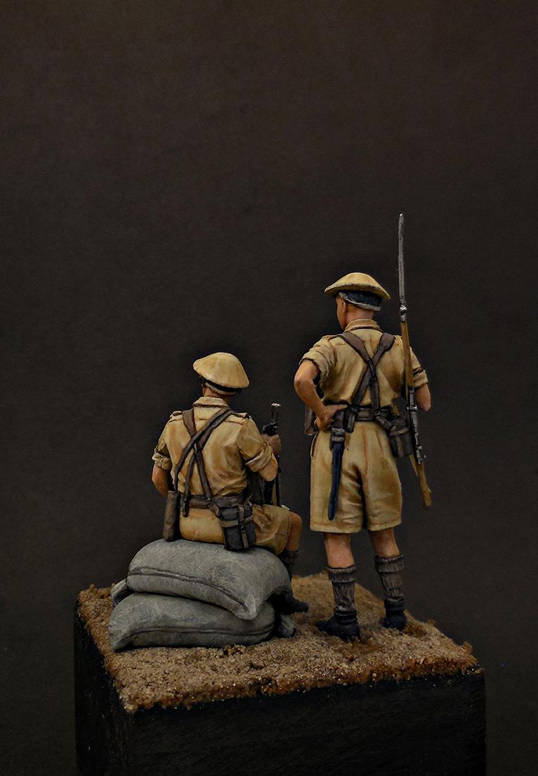 Фигурки: Британская пехота, Северная Африка, 1941-43, фото #4