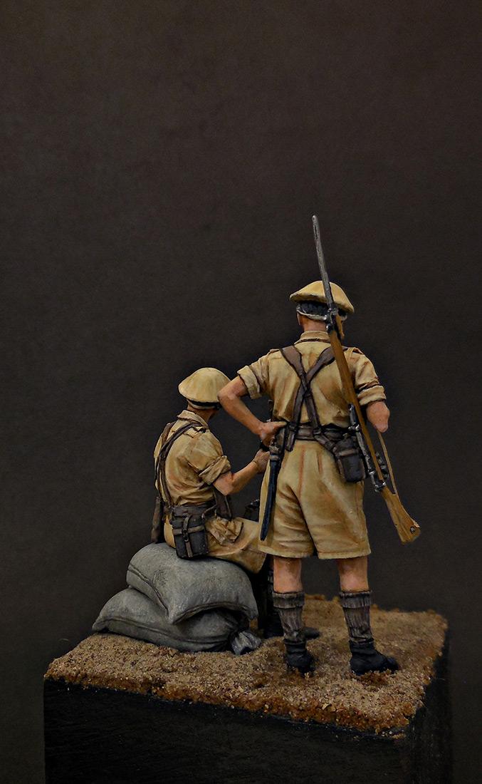 Фигурки: Британская пехота, Северная Африка, 1941-43, фото #5