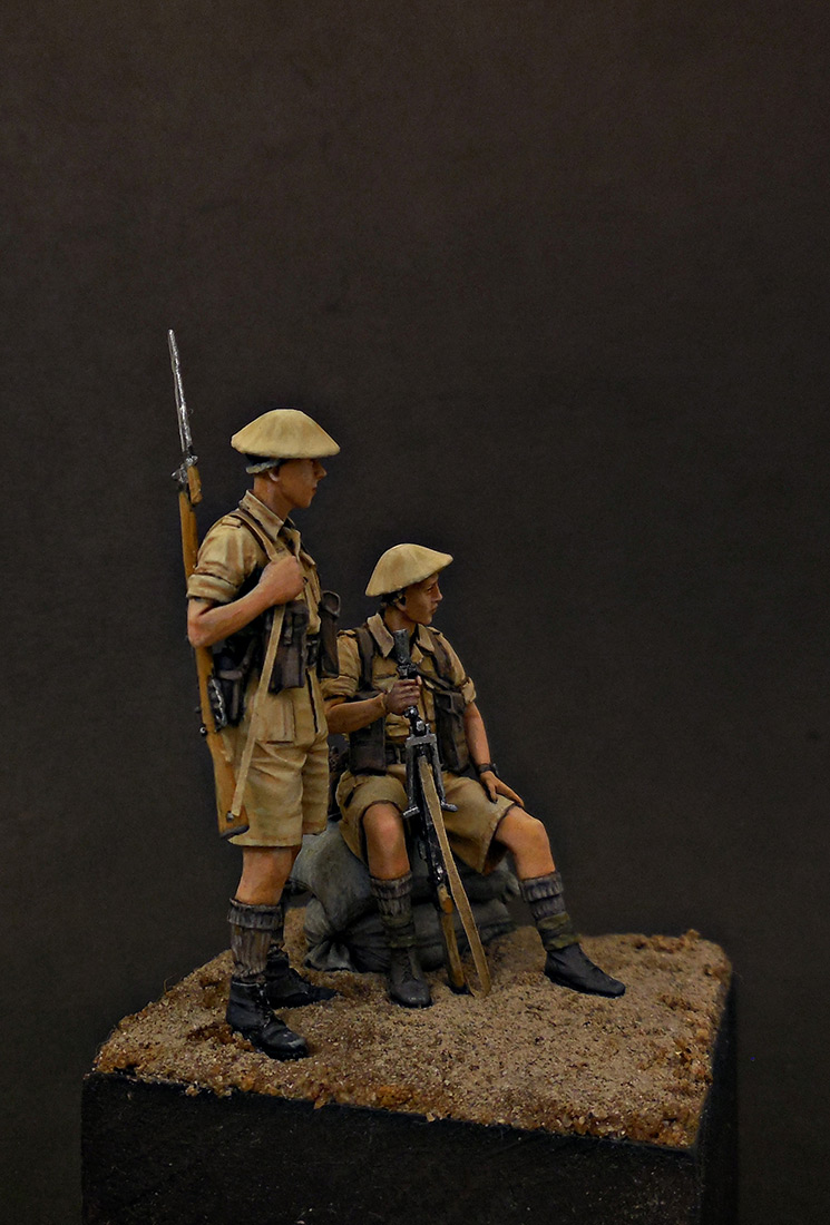 Фигурки: Британская пехота, Северная Африка, 1941-43, фото #6