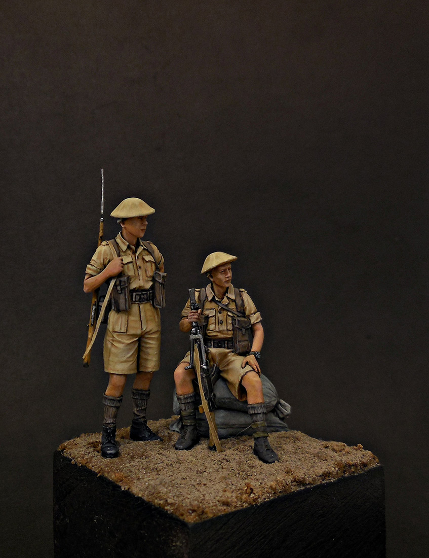 Фигурки: Британская пехота, Северная Африка, 1941-43, фото #7