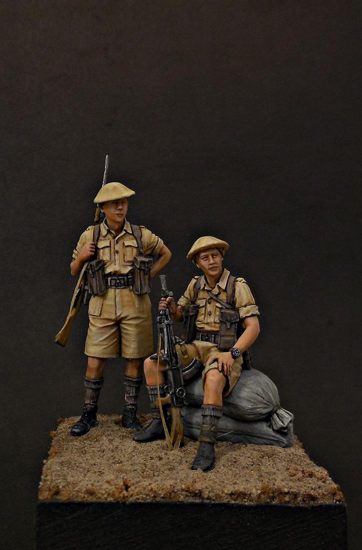 Фигурки: Британская пехота, Северная Африка, 1941-43, фото #8