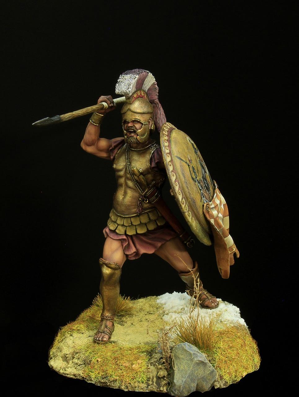 Фигурки: Греческий гоплит 5 века до н.э, фото #1