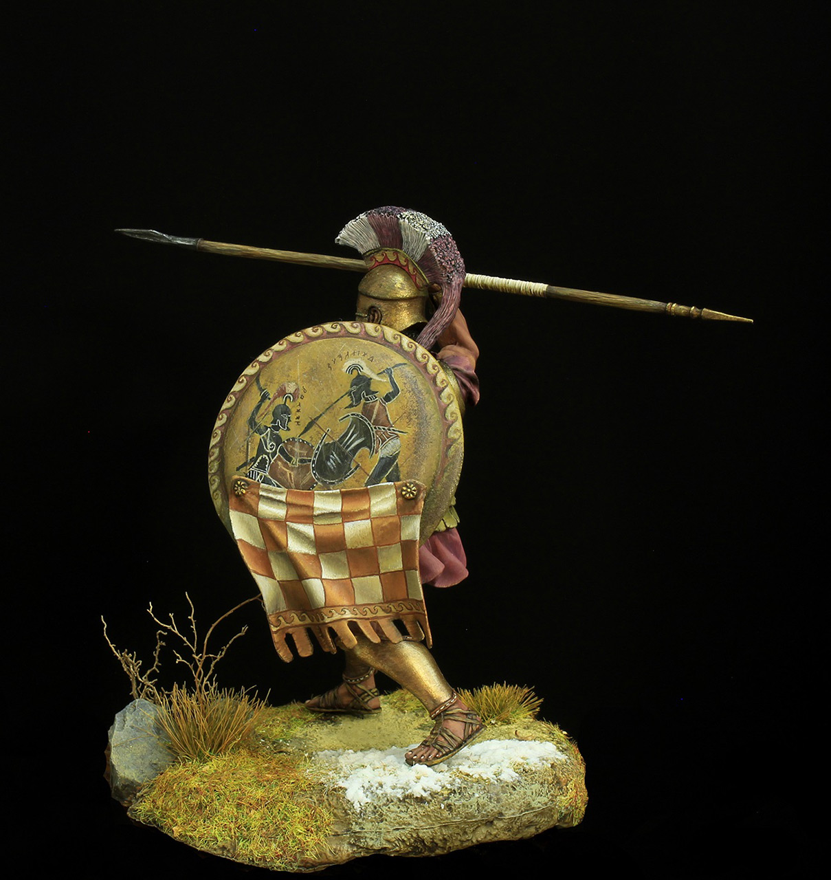 Фигурки: Греческий гоплит 5 века до н.э, фото #3