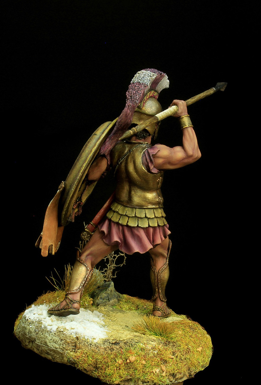 Фигурки: Греческий гоплит 5 века до н.э, фото #4