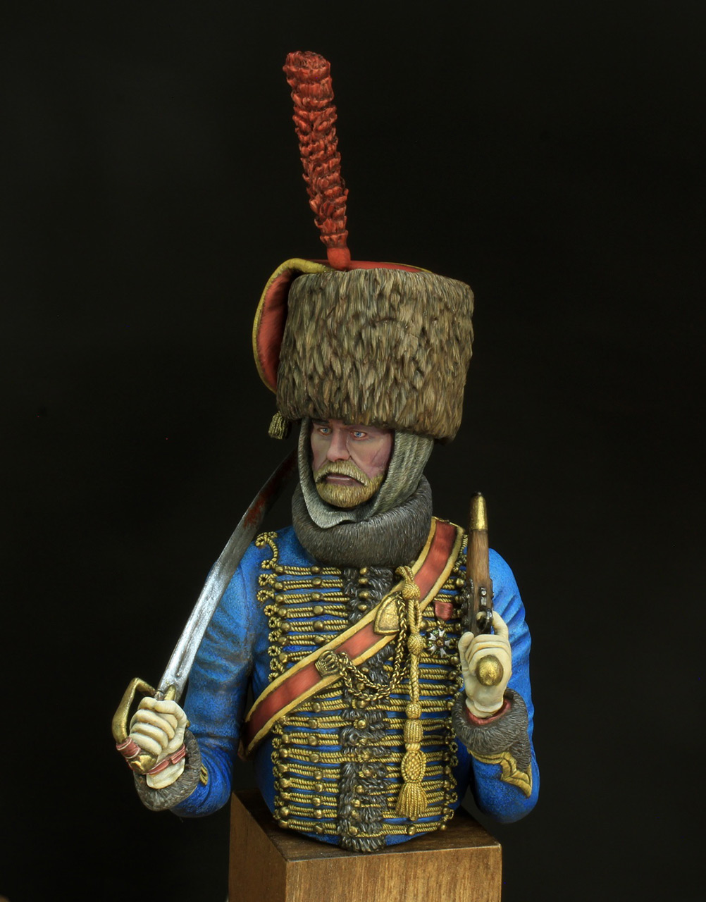 Фигурки: Гусар элитной роты 7-го полка, фото #1